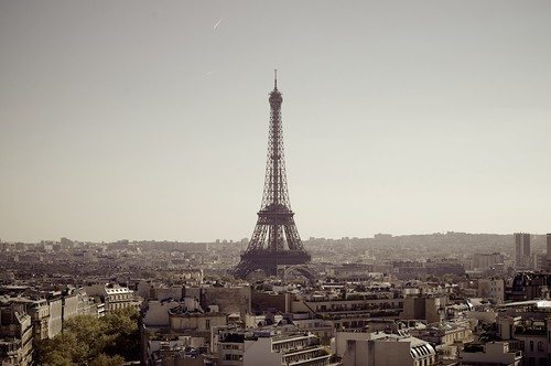 The Eiffel Tower Seen from The Arc de Triomphe