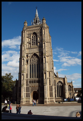 St Peter Mancroft, Tower