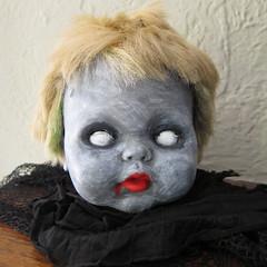 Zombie Baby Head