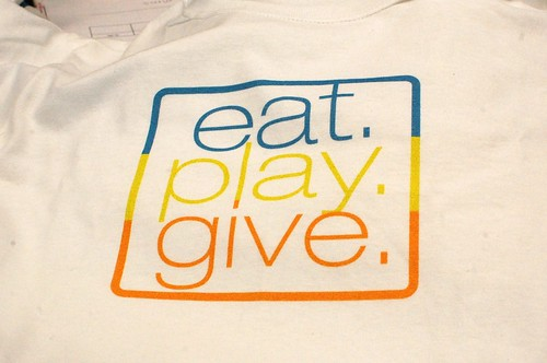 eat. play. give.