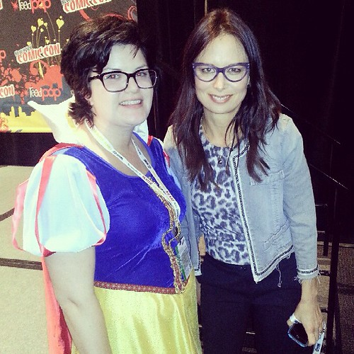 I met Mary Lynn Rajskub! by ceck0face