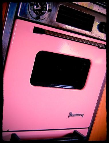 Vintage Pink Oven