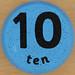 Clock number 10