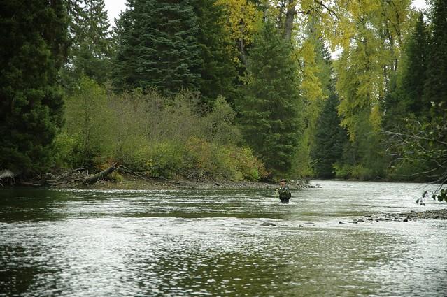 Fishing along the way