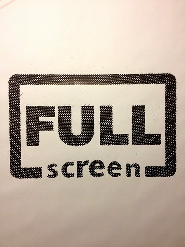 Fullscreen logo drawn by Blackstripes