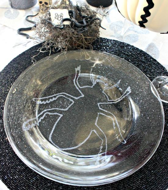 Glitter Bug Plates