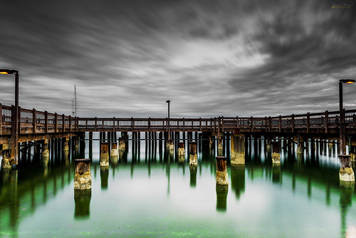 longexposure storm water clouds pier washington nikon waterfront wa pugetsound tacoma pilings washingtonstate rustonway commencementbay d800e