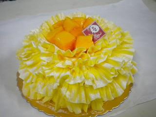 生日蛋糕 芒果+水果