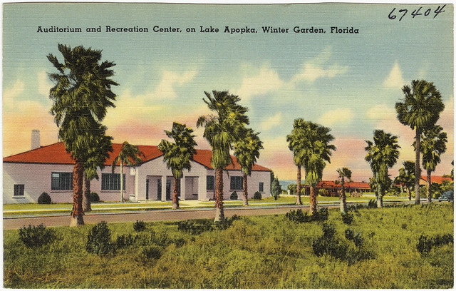 Auditorium And Recreation Center On Lake Apopka Winter G Flickr Photo Sharing