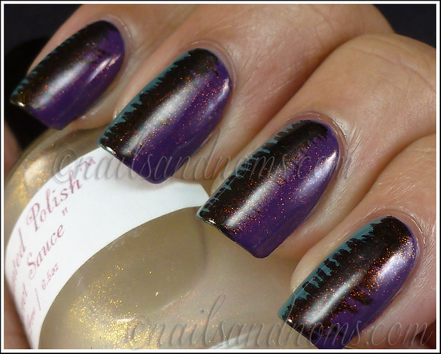 31DC2012 Day 6 Violet Nails - 4