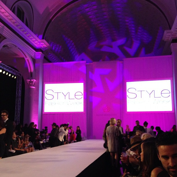 Front row for @AlexisMonsanto and ready for the show to begin! @StyleFW #LaFW @theLAFashion