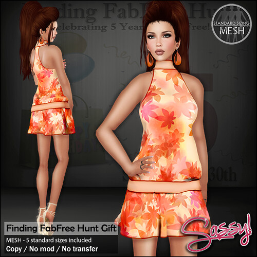 Finding Fabfree Hunt - Jubilee dress