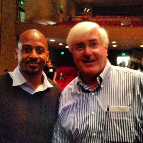 Finally met & talked with @RonConway at #startupschool @startupschool