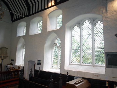 South chancel windows