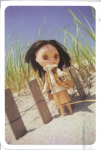 Blythe at the Beach