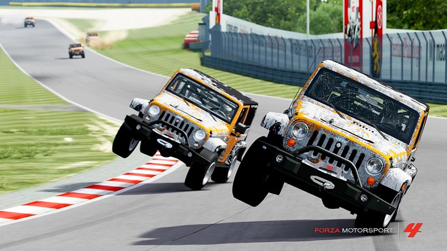 Jeep Wrangler: the most fun car on forza 8109555435_750b352723_z