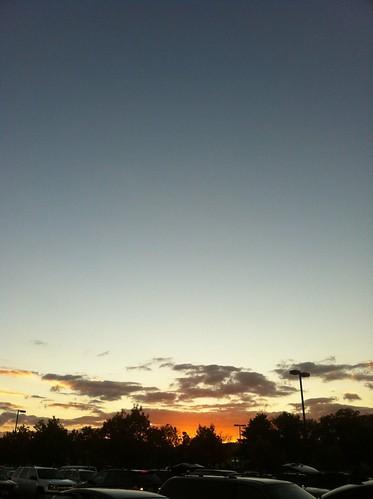 WPIR - amazing sunset