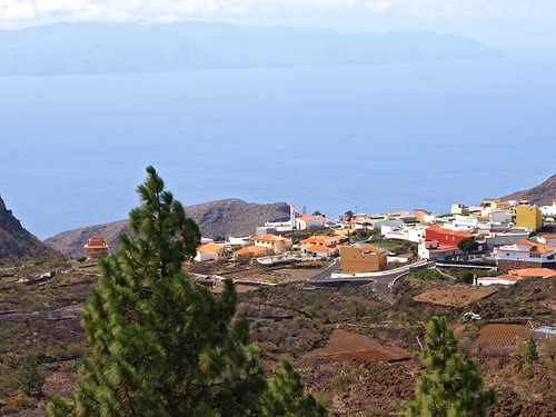 La Gomera from South West Tenerife