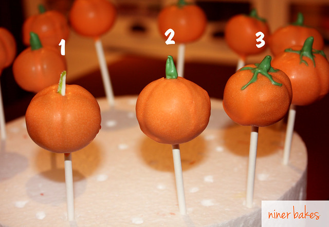 Halloween Pumpkin & Mummy Cake Pops