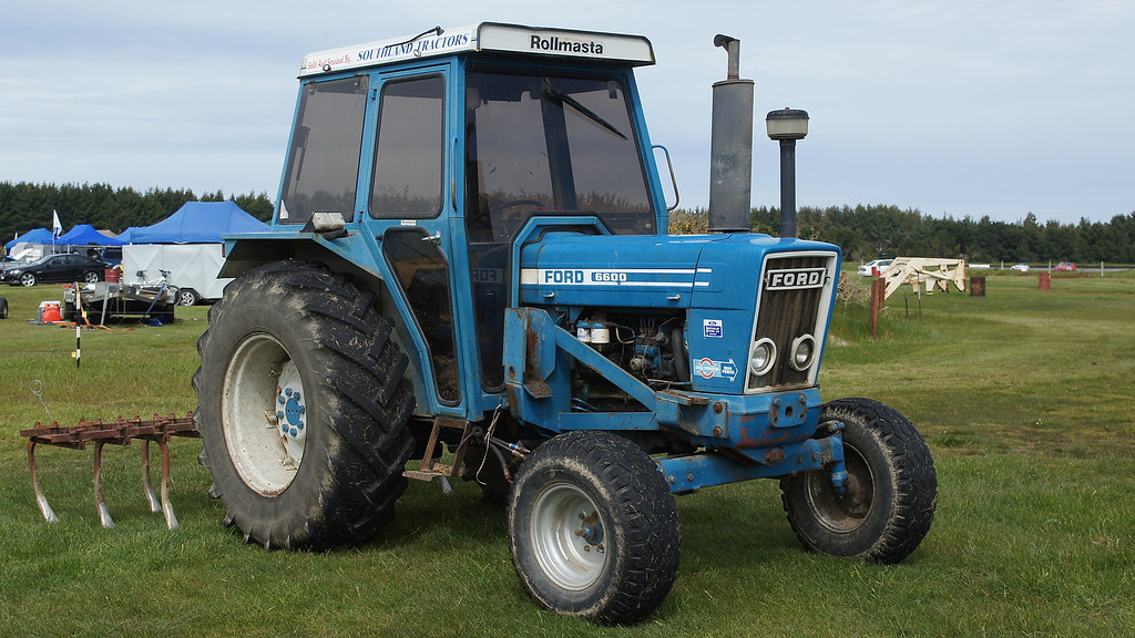 Ford 6600 Tractor : Ford tractor a photo on flickriver