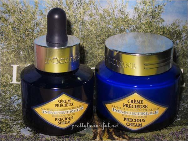 Immortelle Precious Serum and Precious Cream