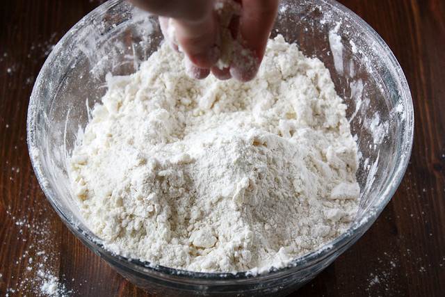 biscuit dough.