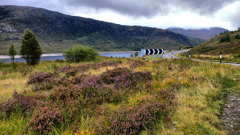 A87 At Loch Cluanie