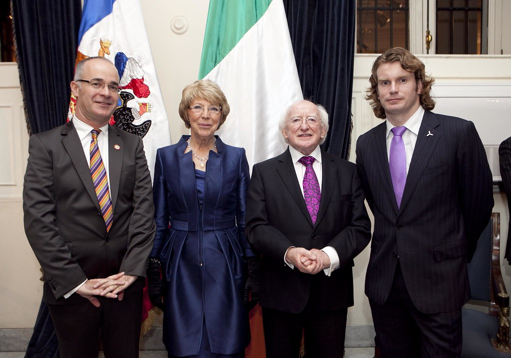 President Higgins Chile visit Oct 2012 1