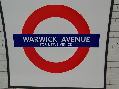 Warwick Avenue roundel for Little Venice