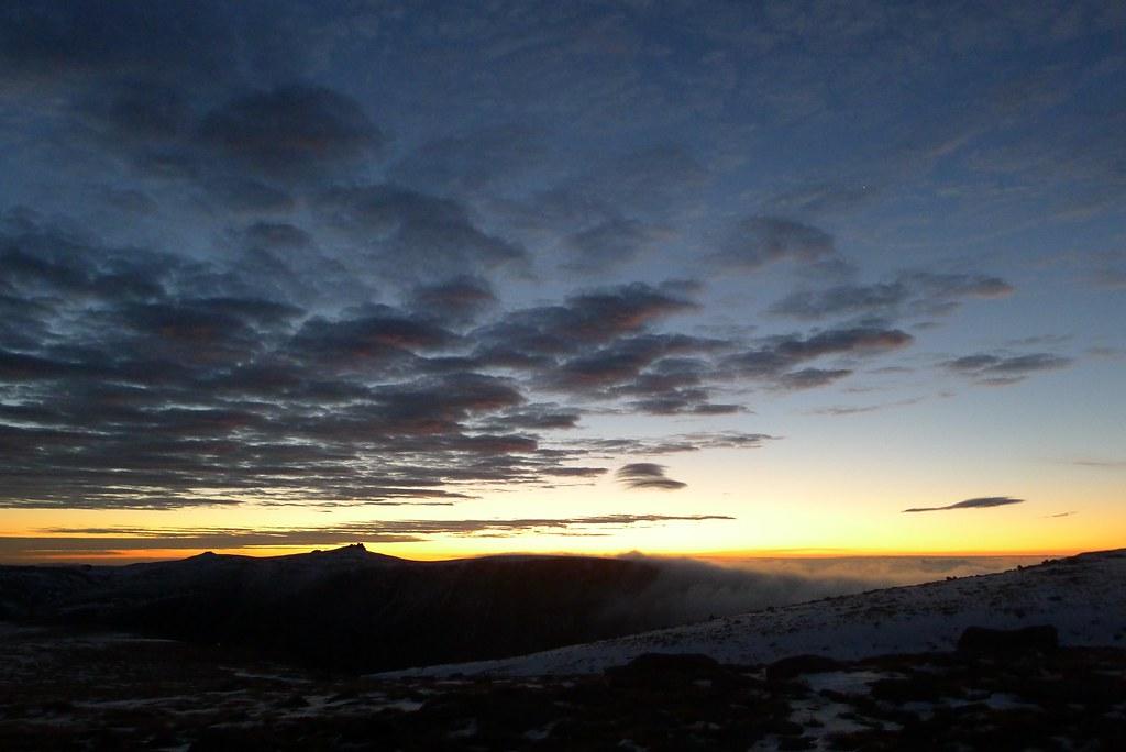 Sunrise from Beinn a' Bhuird