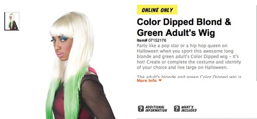 LIL WAYNE AND NICKI MINAJ HOLLOWEEN COSTUMES
