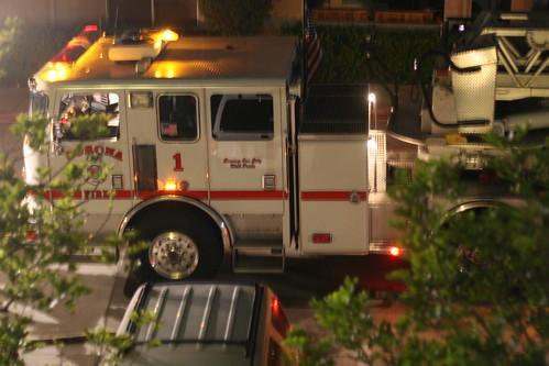 corona fire engine