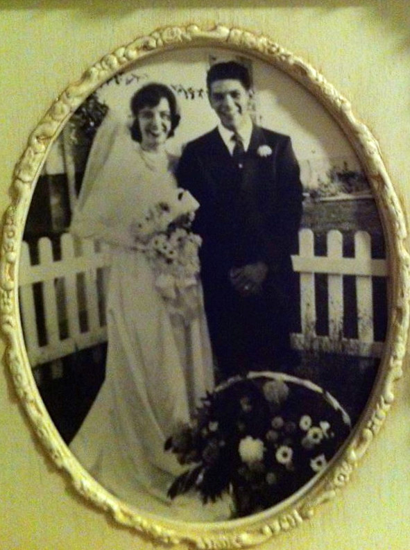 Happy 60th Wedding Anniversary yesterday to my grandma and grandpa <3