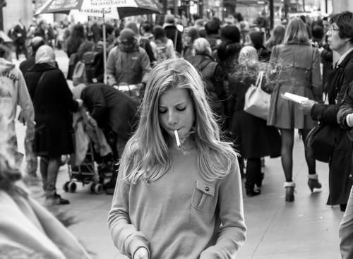 Teen smoker
