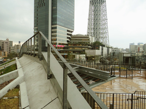 Base of Tokyo Skytree