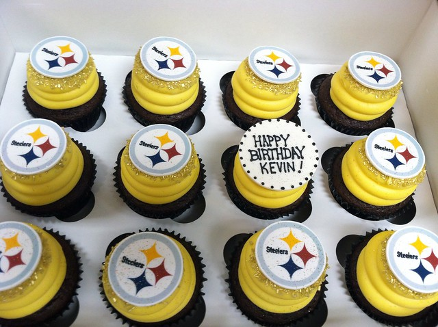 Steelers cupcakes | Flickr - Photo Sharing!