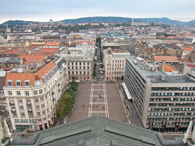 View from the Basilica's observation deck