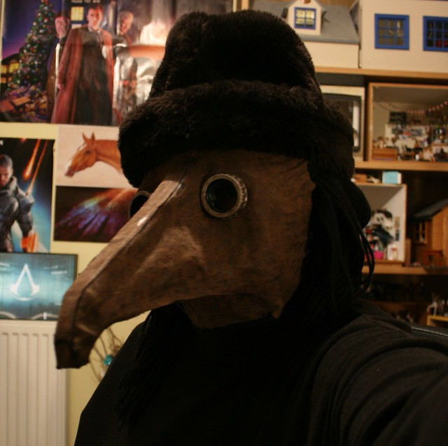 Plague Doctor Costume WIP