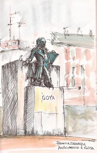 2012-07-28 monumento a Goya by jeguibo