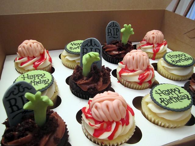 Birthday Cake Zombie Gif