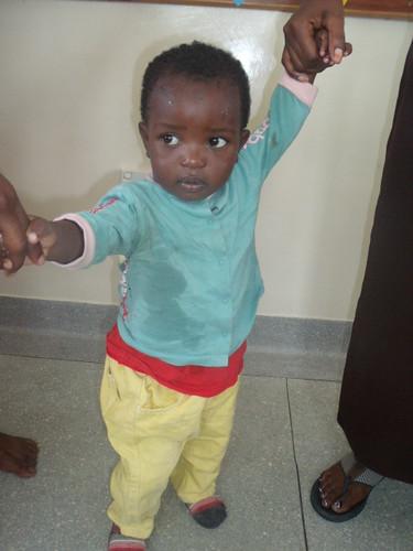 Munyau arrives @ The GLO