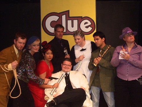 The Cast of Clue: The Musical