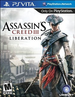 Assassin's Creed III Liberation for PS Vita - box art
