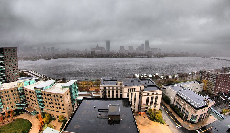 Hurricane Sandy in Boston, Massachusetts