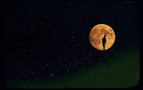 Man In The Moon...