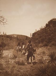 Der Stamm der Mescalero-Apachen