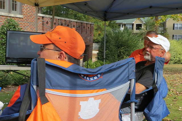 Tailgate at Pike house before the aTm Game
