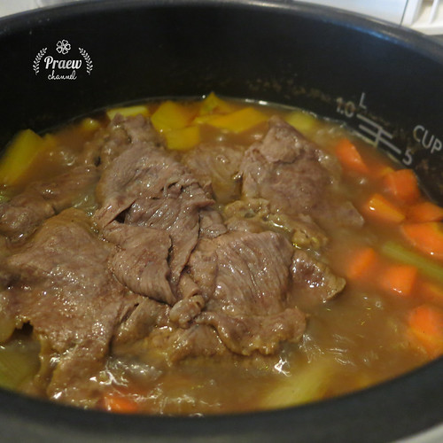 Beef and Pumpkin Japanese Curry