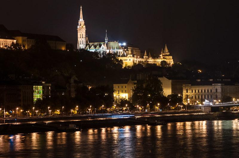 Fotos nocturnas de Budapest
