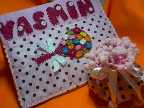 capa p/ carteirinha, e p/ chupetas. by ♥Paninhos em forma de amor♥